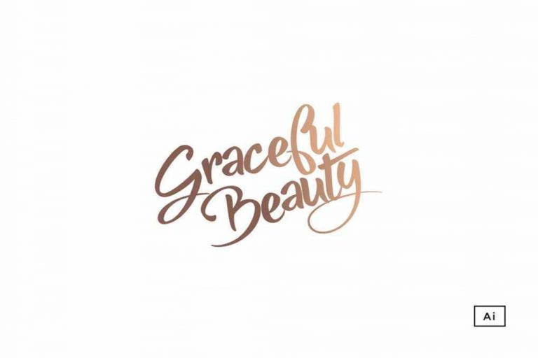 Graceful Beauty - Logo Design